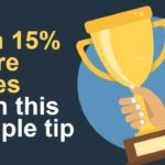 Win 15% more sales today with this simple tip