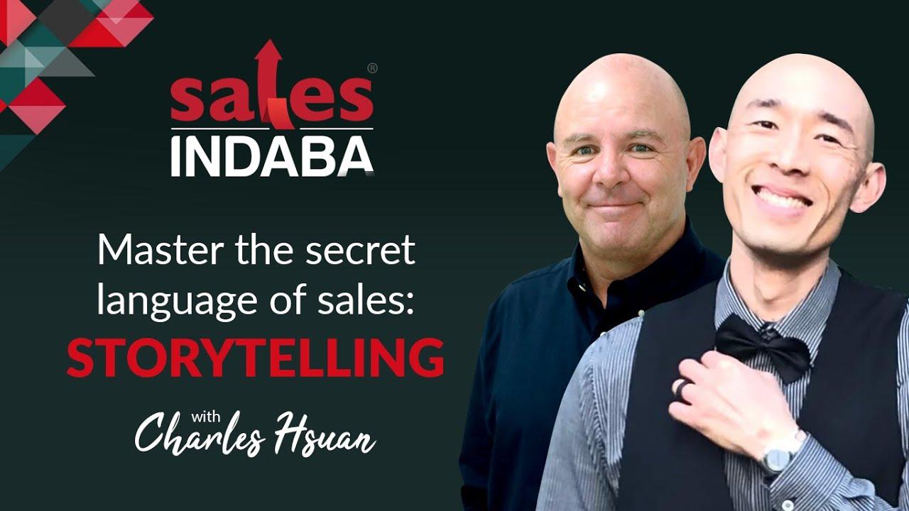 Master the secret language of sales: Storytelling